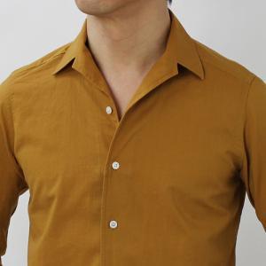 バグッタ / BAGUTTA / JOHNNY GL 09064 / 「Albini社」コットンローン オープンカラー シャツ|luccicare|11