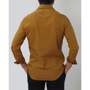 バグッタ / BAGUTTA / JOHNNY GL 09064 / 「Albini社」コットンローン オープンカラー シャツ|luccicare|04