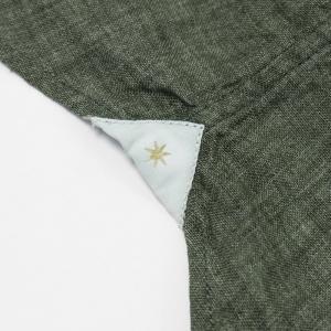 バグッタ / BAGUTTA / JOHNNY GL 09064 / 製品染めリネン オープンカラー シャツ luccicare 08