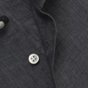 ギローバー / GUY ROVER / S2670L/591308 / リネン ウォッシュ セミワイドカラー シャツ|luccicare|08