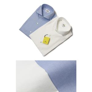 ジャンネット / GIANNETTO / AG13430V84 / VINCI FIT /コットン オックス セミワイドカラー シャツ / 返品・交換可能|luccicare