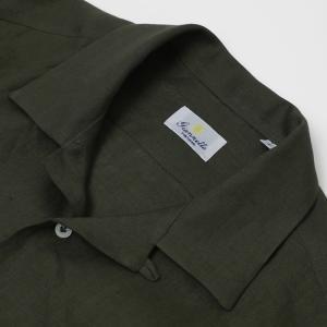 ジャンネット / GIANNETTO / AG83330V84 / リネン オープンカラー 開襟 シャツ / 返品・交換可能|luccicare|07