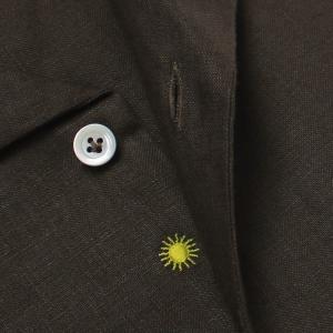 ジャンネット / GIANNETTO / AG83330V84 / リネン オープンカラー 開襟 シャツ / 返品・交換可能|luccicare|08