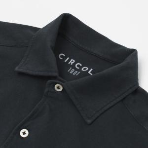 チルコロ 1901 / CIRCOLO 1901 / ACU 227733 / 製品染め コットン ジャージー 半袖 オープンカラー シャツ / 返品・交換不可|luccicare|05