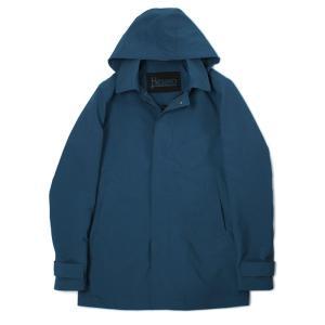 ヘルノ / HERNO / IM0207U-19339 / フード付 撥水 ショート ステンカラー コート|luccicare