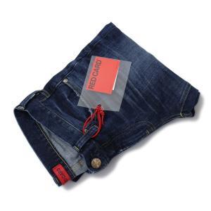 レッド カード / RED CARD / Rhythm Crop / Slim Tapered Cropd / ウォッシュド ストレッチ デニム パンツ / 返品・交換可能|luccicare