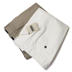 ジャブス アルキヴィオ / giab's ARCHIVIO / VERDI M / NEW GUM PANTS / ニューガム ストレッチ ワンプリーツ パンツ / セール / 返品・交換不可|luccicare
