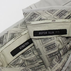PT01 / MAESTRO / SUPER SLIM FIT / コットン ストレッチ ノープリーツ スラックス / セール / 返品・交換不可|luccicare|11
