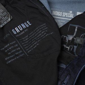 PT05 / GRUNGE RELAXED FIT / INDIGO SPECIAL / ウォッシュド デニムジャージー スラックス / セール / 返品・交換不可|luccicare|09