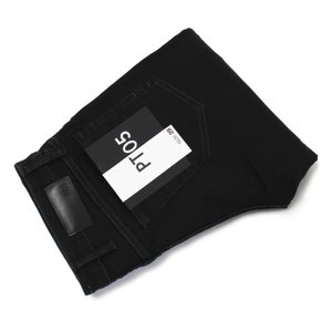 PT05 / SWING / SUPER SLIM FIT / PT05 Traveller / コットン スーパーストレッチ ウォッシュド ブラック デニム パンツ / 返品・交換可能|luccicare