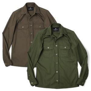 グレンフェル / GRENFELL / Over Shirt / コットン シャツ アウター / セール / 返品・交換不可|luccicare