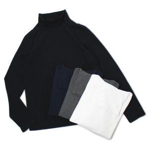 チルコロ 1901 / CIRCOLO 1901 / 92042236306 / コットン 天竺ニット タートルネック ロングスリーブ Tシャツ / 返品・交換可能 luccicare