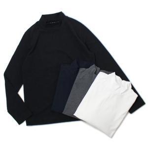 チルコロ 1901 / CIRCOLO 1901 / CN2364 / コットン 天竺ニット モックネック ロングスリーブ Tシャツ / 返品・交換可能|luccicare