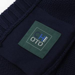 ザノーネ / ZANONE / CHIOTO ( 旧KYOTO ) / 811943-ZY377 / コットン 3G スタンドカラー 胸切り替え ニット ブルゾン|luccicare|07