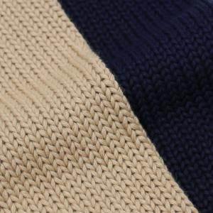 ザノーネ / ZANONE / CHIOTO ( 旧KYOTO ) / 811943-ZY377 / コットン 3G スタンドカラー 胸切り替え ニット ブルゾン|luccicare|10