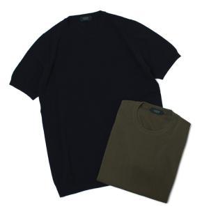 ザノーネ / ZANONE / 812109-ZY318 / コットン ニット Tシャツ / 返品・交換可能|luccicare