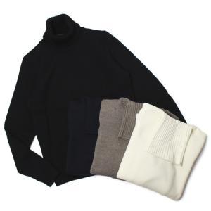 ザノーネ / ZANONE / ウール ミドルゲージ(5G) ニット タートルネック セーター / 返品・交換可能|luccicare