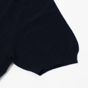 グランサッソ / GRANSASSO / トリミング フレッシュコットン 12G ニット スキッパー ポロシャツ / 返品・交換可能|luccicare|07