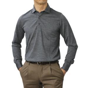 グランサッソ / GRANSASSO / ウール ジャージー ロングスリーブ ポロシャツ / 返品・交換可能 luccicare 11