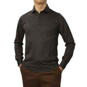 グランサッソ / GRANSASSO / ウール ジャージー ロングスリーブ ポロシャツ / 返品・交換可能 luccicare 12