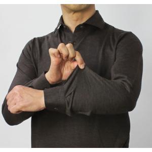グランサッソ / GRANSASSO / ウール ジャージー ロングスリーブ ポロシャツ / 返品・交換可能 luccicare 09