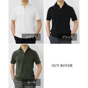 ギローバー / GUY ROVER / PC435/591501 / コットン パイル セミワイド 半袖 ポロ シャツ / 返品・交換不可|luccicare|14