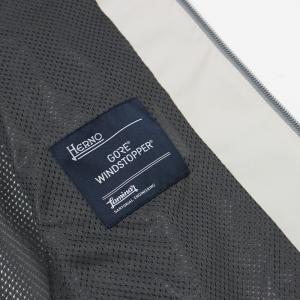 ヘルノ / HERNO / GI042UL / Laminar GORE WINDSTOPPER / ストレッチ ポリエステル ラミネート加工 フーデット ジレ / セール / 返品・交換不可|luccicare|10