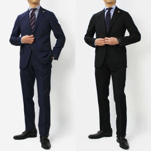 ラルディーニ / LARDINI / ウールトロピカル 3釦段返り ワンプリーツ スーツ / セール / 返品・交換不可|luccicare