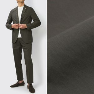 ラルディーニ / LARDINI / Easy Wear / パッカブル / 超軽量コットン 3釦段返り スーツ / セール / 返品・交換不可|luccicare