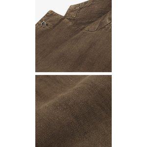 エルビーエム1911 / L.B.M.1911 / JACK SLIM / リネン100% 製品洗い 2B 2パッチ ジャケット / セール / 返品・交換不可|luccicare|08