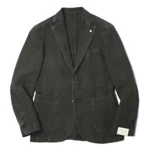 エルビーエム1911 / L.B.M.1911 / JACK SLIM / リネン100% 製品洗い 2B 2パッチ ジャケット|luccicare