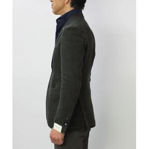 エルビーエム1911 / L.B.M.1911 / JACK SLIM / リネン100% 製品洗い 2B 2パッチ ジャケット|luccicare|03