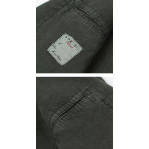 エルビーエム1911 / L.B.M.1911 / JACK SLIM / リネン100% 製品洗い 2B 2パッチ ジャケット|luccicare|06