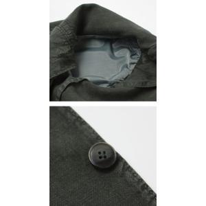 エルビーエム1911 / L.B.M.1911 / JACK SLIM / リネン100% 製品洗い 2B 2パッチ ジャケット|luccicare|07