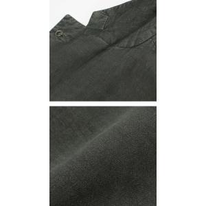 エルビーエム1911 / L.B.M.1911 / JACK SLIM / リネン100% 製品洗い 2B 2パッチ ジャケット|luccicare|08