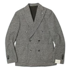 エルビーエム1911 / L.B.M.1911 / TOM SLIM / コットン&リネン ダブル ジャージー ジャケット|luccicare