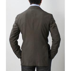 【国内正規品】S/S 新作 BOGLIOLI ( ボリオリ ) / ウールサマートロピカル 2釦 ピークドラペル シングル 2パッチ ジャケット|luccicare|04
