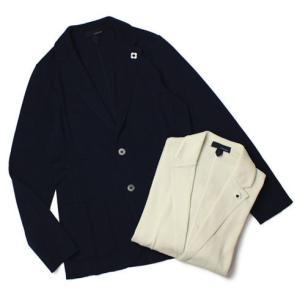 【国内正規品】S/S 新作 LARDINI ( ラルディーニ ) / コットン ニット ジャケット|luccicare