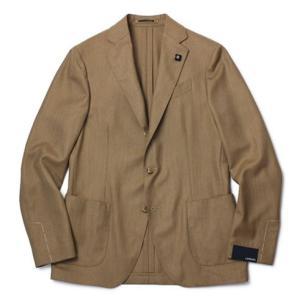 ラルディーニ / LARDINI / EASY / サマーカシミヤ100% 3釦段返り シングル ジャケット / セール / 返品・交換不可|luccicare