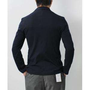 【国内正規品】S/S 新作 Cruciani ( クルチアーニ ) / コットン ジャージィ シングル ジャケット|luccicare|04