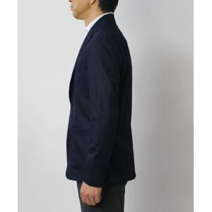 フライ / FRAY / GIACOMO / ウール カノニコ ナチュラルストレッチ 3B段返り シャツ ジャケット luccicare 03