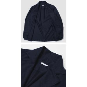 フライ / FRAY / GIACOMO / ウール カノニコ ナチュラルストレッチ 3B段返り シャツ ジャケット luccicare 05