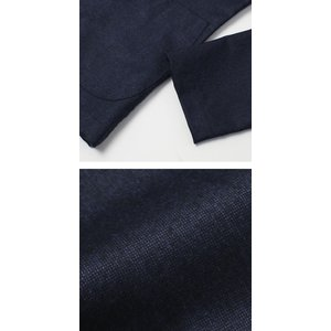 フライ / FRAY / GIACOMO / ウール カノニコ ナチュラルストレッチ 3B段返り シャツ ジャケット luccicare 08