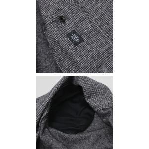 イレブンティ / eleventy / ウール ジャカード マイクロ ハウンドトゥース柄 ジャージー 2B シングル ジャケット / セール / 返品・交換不可|luccicare|06