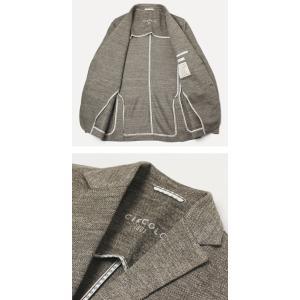 【国内正規品】S/S 新作 CIRCOLO 1901 ( チルコロ 1901 ) / リネン ジャージー ジャケット|luccicare|05