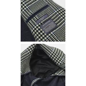 チルコロ 1901 / CIRCOLO 1901 / カシミヤタッチ コットン グレンチェック柄プリント ジャージー ジャケット|luccicare|06