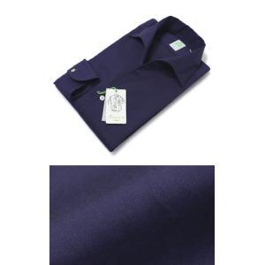 フィナモレ / Finamore / USTICA / コットン オックス ワンピースカラー ボタンダウン シャツ|luccicare