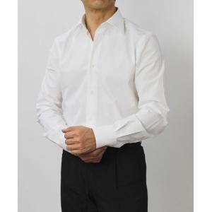 ガブリエレ パジーニ / G.Pasini / コットンブロード ( スカルピン付き ) ピンホール シャツ|luccicare|02