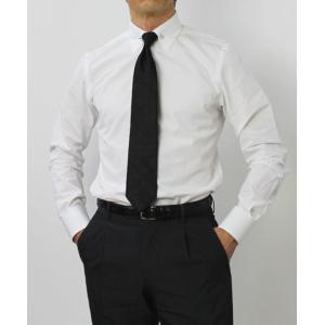 ガブリエレ パジーニ / G.Pasini / コットンブロード ( スカルピン付き ) ピンホール シャツ|luccicare|03