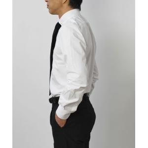 ガブリエレ パジーニ / G.Pasini / コットンブロード ( スカルピン付き ) ピンホール シャツ|luccicare|04